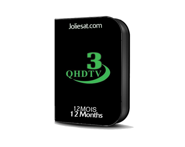 QHDTV3  12Mois