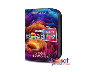 SMART IPTV SAMSUNG 12MOIS