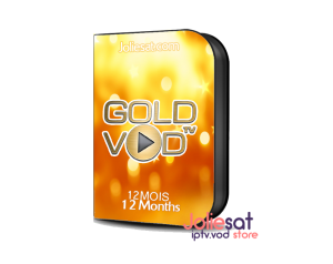GOLD VOD 12 MOIS