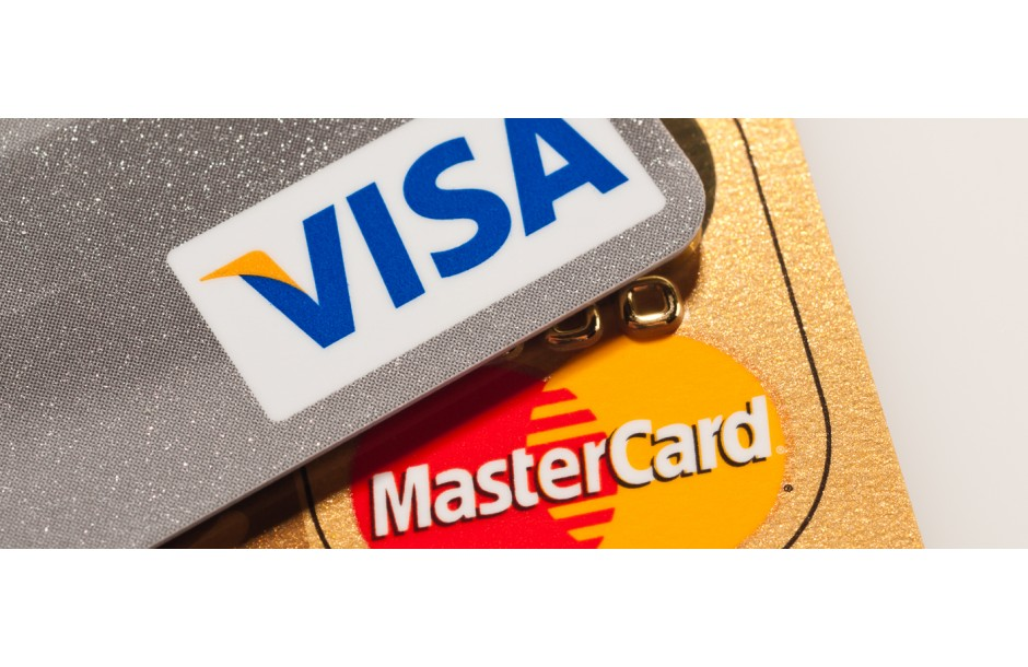 Payment By MasterCard and Visa Is Available